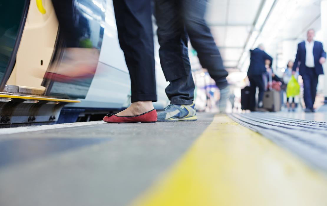 Train Platform (Stock Image)